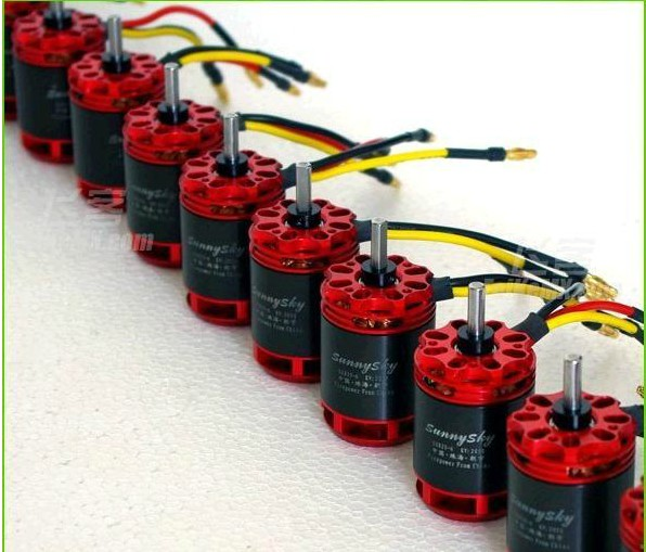 F05354 Sunnysky S2825 kv2050 2050KV 15T Brushless Motor For Trex 500 Size RC Helicopter A123 6S Lipo Battery + Free shipping(China (Mainland))