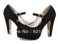 2013 hot-selling women's high heels / matte velvet shoes / dress shoes / free shipping
