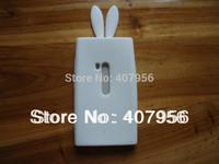 Free EMS DHL! For Nokia Lumia 920 N920 case Rabbit silicone Case cartoon case,100pcs/lot