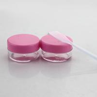 20SETS/LOT Cream Divided Bottling/Compressed Paper Mask Bottles/Mask Case With Stick 9925