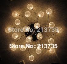 Free Shipping 20 light Modern Chandelier free controller 2013 design chandelier