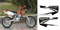 Kawasaki motorcycle off-road KAWASAKI klx250 emblem applique