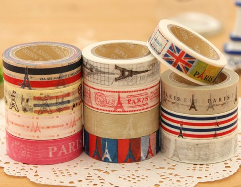 Blue Bai Stationery--Hot sale New style Korean Create washi tape British wind restoring ancient ways kohis sticker 280002(China (Mainland))
