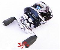 lwater drop Fishing ree Bait baitcasting fishing reel Left /right hand  One-way+10ball bearings 6.3:1