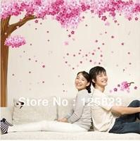 wedding wall stickers, cherry tree