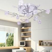 NEW Free Shipping 11 light Modern ceiling light for living room dia 80cm free controller