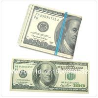 Free Shipping 1Piece 100 $ USD US Dollar Wallet / Man Purse Novelty Wallet Gift