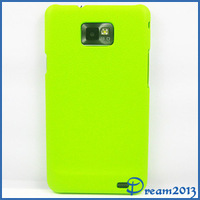 New Multiple Color Leather Pattern Hard Case Cover Skin For i9100 case Samsung Galaxy S2 i9100