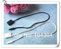 """8"""" 1000Pcs White color Black color Hang Tag Nylon String Snap Lock Pin Loop Fastener Hook Ties hang tag hang tags  tag strings"""