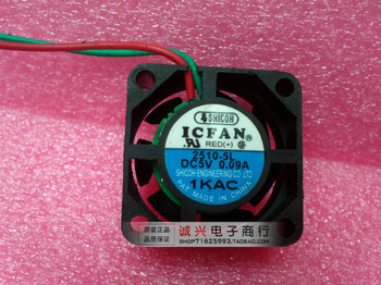 Shicoh icfan 5v 0.09a 2.5cm precision mini cooling fan 2510-5l fan
