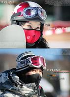 Wholesale/Drop shopping ski mask Neoprene Neck Warm Half Face Mask Winter Veil For Sport Bike Ski Snowboard [U002042]