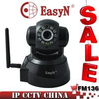 EasyN Wireless IP Camera Pan/Tilt Wifi Network CCTV Camera MJPEG Indoor F-M136