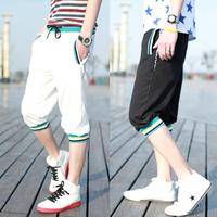 Hot sale 2013 summer new Korean Men's sports casual fashion pant slacks Men's free shipping