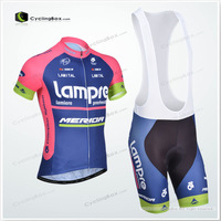 2013 Free shipping 2013 Pro Cycling Jersey BIB Shorts set Quick Dry Wholesale service for Men's Bicycle Wear Ciclismo Jersey