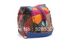 2013 Hot Genuine Leather Women Bags Sheepskin Designer Handbags Colorful Handbags