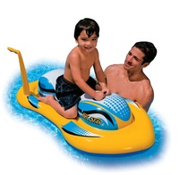 INTEX - Motor boat knopper toy belt inflatable toys The best gift for children's day
