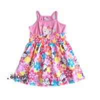 Children's clothing female child baby 2013 summer suspender skirt one-piece dress 0.1