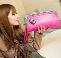 2013 women's bag clutch bag day clutch skull bag female dinner women's handbag shoulder bag