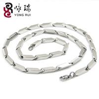 Accessories platinum titanium male fashion male necklace melon seeds chain with chain