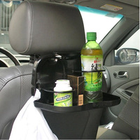 2013Hot Sale -3 Colors-Car Seat Tray mount Food table meal Desk Stand Drink Cup Holder for automobile[a002041]