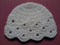 Crochet baby Hat, Girls Cotton Beanie Hat, Sale Crochet Toddler Hat , unisex beanie hats, vintage, MADE TO ORDER 10pcs/lot