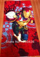 Free Shipping! 30pcs/lot Fashion Cartoon Bath Towel 100% Cotton Beach Towel for Kids (150cm*75cm ) G2667 Wholesale