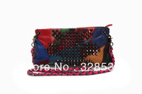 Hot Sale Colourful Handbags Authentic Leather fashion Shoulder Bags Sheepskin Handbags