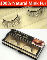 WHOLESLE!5SETS/LOT Fashion Popular Natural Mink eye lash, natural long false eyelashes rmz09,mink false eyelash FREE SHIPPING
