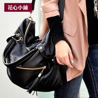- 2013 Rivet Bag Fashion Vintage One Shoulder Bag Cross Body Bags Women Handbag Bag - d08  Blue Red White Yellow Pink Wristlet