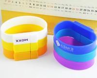 free shipping 1pcs Full Capacity Silicone Bracelet Wristband 4G 8G USB flish dirve 1023