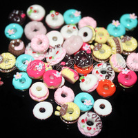 130pcs/pack 13 Different Typs Cute Nail Art Resin Decoration Sweet Circle Decoration Free Shipping