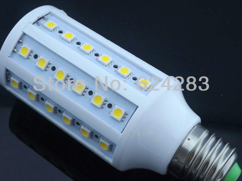 Corn Bulb E27 12W 5050 SMD 60 LED Light Home Bedroom Lamp 200-240V/AC 360 degree High Power Cool| Warm White Free Shipping(China (Mainland))