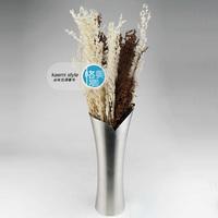 Muleshoe stainless steel vase art vase quality vase