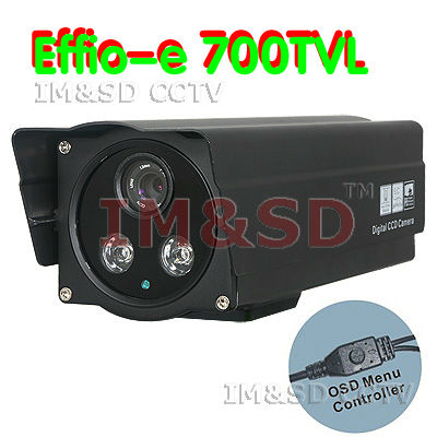 The new , free shipping high definition 700TVL SONY HAD CCD Dual Array IR LED Outdoor Security CCTV Camera 12mm Lens OSD(China (Mainland))