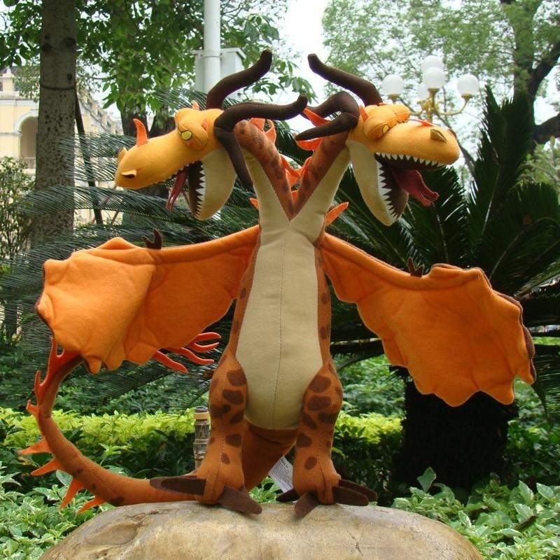 Como treinar o seu dragão Plush Toy Hideous Zippleback ...