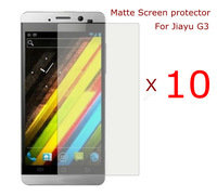 10 x New Matte Screen Protector Film For Jiayu G3 cell phone ,  free shipping