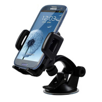 2 piece / lot New Mobile Phone GPS car holder Mount Holder for iPhone 4 4S for iPhone 5 for HTC One for Samsung Galaxy S3