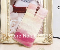 Twilight Time transparent side case for Sony Ericsson Xperia S case LT26i Xperia S cover Free shipping(China (Mainland))