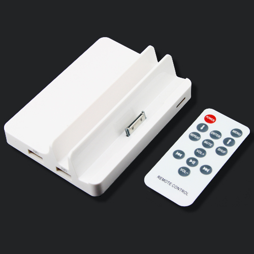 High quality home office smart mobile phone cellphone tablet PC remote control charging docking station AV output HDMI output(China (Mainland))