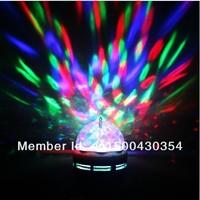 Free Shipping 20pcs/lot E27 3W Color ful Change  RGB 3 LED Spot Light Bulb  Lamp for Chrismas Party and KTV
