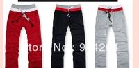 Men Sports Gym Jogging Casual Long Pants Trousers Fva   free shipping