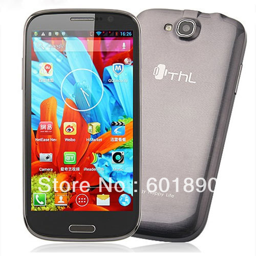 "ThL W8+ 5.0"" 1080P FHD Screen Smart Phone Android 4.2 MTK6589 Quad Core 16G Grey Wholesale Free Shipping #230081(China (Mainland))"