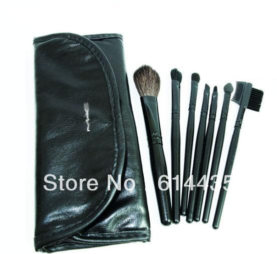 2013 newly listed makeup brush set portable cosmetic bag + makeup brush value suit beginners(China (Mainland))
