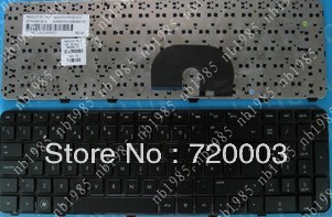 FREEshipping Original New GoodWorking laptop keyboard For HP dv7 dv7-6000 PO