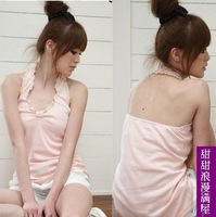 2013 summer sexy cool 930 laciness all-match halter-neck small vest