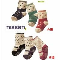 2014new 12pairs/lot  children's cotton socks,baby imitation shoes socks/non-slip socks/wholesale