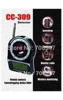Wireless Signal Detector Anti-hidden Mini CC-309 Full Band Detector Detection Camera 5pcs/lot By DHL