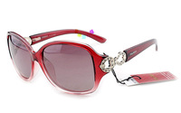 Women's polarized sunglasses fashion sunglasses red 3118
