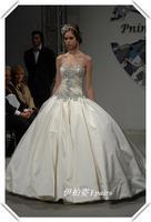 Luxury fashion royal bride diamond wedding body shaping wedding dress