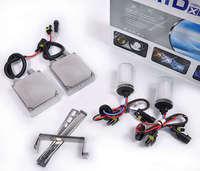 Free shipping Hot 12V 55W HID Xenon Conversion Ballast Kit Bulbs 9006 8000K Built-in decoder [AC303]